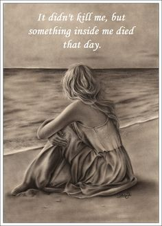 Ein Kunstdruck Glossy Emo Traditional Girl am Strand Ocean Zindy Nielsen - # Great Quotes, Me Quotes, Inspirational Quotes, First Art, First Love, Arte Emo, Grieving Quotes, I Miss You, Grief
