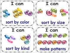 """Simply Centers: Math """"I Can"""" Cards"""