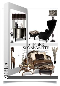 Pattern Play: Zebra by betiboop8 on Polyvore featuring interior, interiors, interior design, home, home decor, interior decorating, Tom Dixon, Artek, Universal Lighting and Decor and Pier 1 Imports