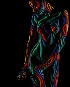 Les Nus de Lumière et d'Ombre de Dani Olivier - Chambre237