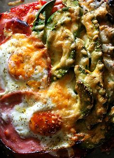 Ham Egg Pizza Toast by lard.blog87.fc2 #Toast #Man #Egg #Pizza