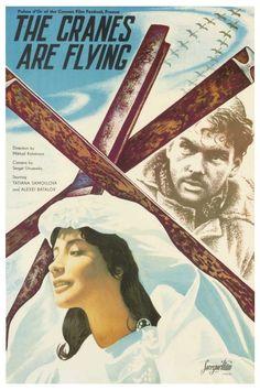 Mikhail Kalatozov's The Cranes Are Flying Летят журавли Letyat zhuravli (1957)