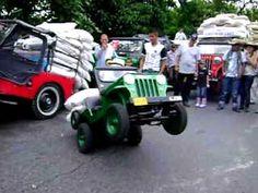 pique mini jeep willyz yipao con bulticos de cafe, turismo por el eje cafetero
