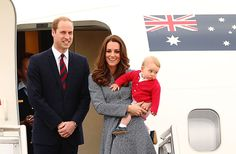 William and Kate famously took Prince George with them on their 2014 tour of Australia and New Zealand
