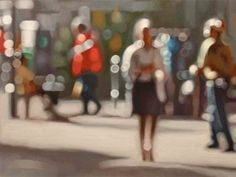 No, you haven't misplaced your glasses. This is just the awesomely out-of-focus work of Cape Town artist Phillip Barlow