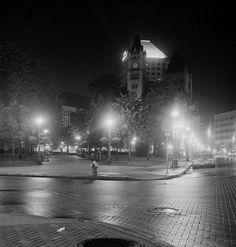 black and white cityscape silhouette saint paul mn - Google Search
