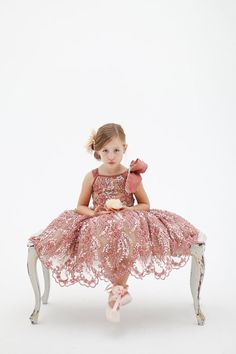 20 Fashion-Forward Flower Girl Dresses via Brit + Co.
