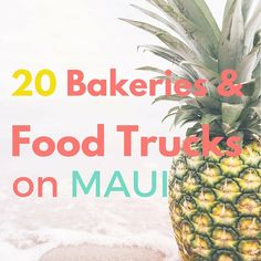 Looking for a list of places to eat during your Maui Hawaii vacation? Here are 20 bakeries and road side food stops on Maui. Hawaii 2017, Hawaii Life, Aloha Hawaii, Kapalua Hawaii, Lahaina Maui, Visit Hawaii, Honolulu Hawaii, Trip To Maui, Hawaii Vacation