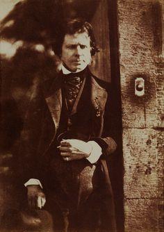 David Octavius Hill (1802-1870) • Self-Portrait, 1844 • Public domain