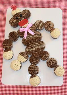 Lauren's super cute 8th bday cake! Thanks Jen she loved it! http://cakesjenbakes.com/images/cup019.JPG