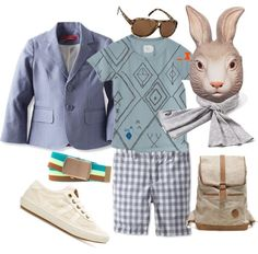 """""""Bunny Cool - Wedgwood & Other Shades of Blue"""" by boysbecool on Polyvore"""