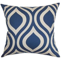 Larch Geometric Throw Pillow Cover