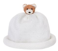 Babynies Soft Cotton White with Doggie Hat