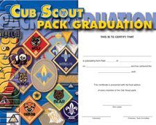 Cub scout pack graduation certificate for boys who have not cub scout pack graduation certificate for boys who have not earned aol boy cub scouts pinterest certificate cub scout badges and pack meeting yadclub Choice Image