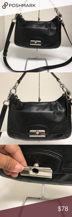 Coach Kristine crossbody bag Looks great and it's good condition! Coach Bags Crossbody Bags