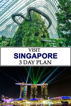 Highlights of 3 days traveling in Singapore. Use this guide for travel ideas on your short vacation to the country!