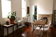 Need narrow dining table.