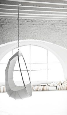 Either if you prefer minimalist, vintage or romantic style, white is always a good choice to your home interior décor! Here you have the perfect white inspiration to give a special summer touch to your home interior design. Home Interior, Interior And Exterior, Kitchen Interior, Mini Loft, Hammock Swing, Hammocks, Room Hammock, Swinging Chair, Home And Deco