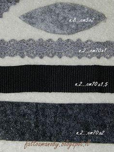 Bauletto in feltro (tutorial)   Inverno 2012-2013   Sono moltocontenta di mostrarvi il mio nuovo lavoro,   sia perchè è anche il ...