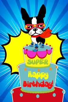 MIRABELLE IS MY LITTLE SUPERHERO. Check out one of our newest MIrabelle birthday greeting card designs. http://www.theadventuresofmirabelle.com/suhabi.html