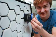 Una nevera sin puertas (para ahorrar energía)  El estudiante neozelandes de diseño industrial Ben de la Roche ha creado esta nevera sin puertas a la que ha llamado Impress.