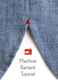 Here's an easy tutorial that will show you how to add a fun bartack detail to your shirts using your sewing machine.