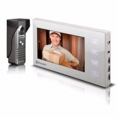 Shop for Doorphone Video Intercom Color Camera with LCD Screen at the best prices from Swann Security today! Driveway Alarm, House Proud, Ring Video Doorbell, Intercom, Home Automation, Smart Home, Digital Camera