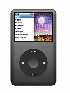 Apple iPod classic 160 GB Black (7th Generation)#FOLLOWITFINDIT
