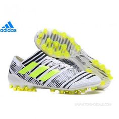 cheap for discount 796b2 eee55 adidas Nemeziz Messi 17.1 AG S82290 MENS White Solar Yellow Core Black SALE  FOOTBALLSHOES