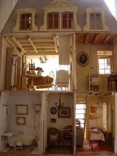 Frans landhuis poppenhuis.