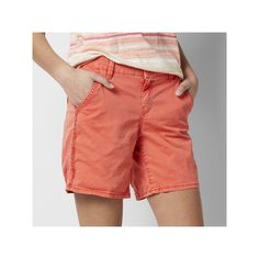 Women's SONOMA Goods for Life™ Chino Shorts, Size: 14, Med Orange