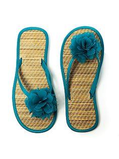 #Beach Wedding Flip Flops