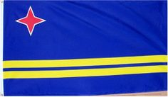 Aruba National Country Flag - 3 foot by 5 foot Polyester (New) . $5.75