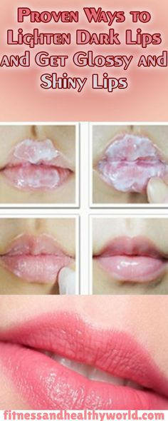 #lighten #dark #lips #glossy  #shiny #lips #health  #beauty #recipe #remedy