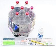 Reciclaje de botellas de plástico decoracion o banquitos - Taringa!