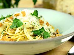 Citronpasta med sardeller och fänkål | Recept.nu