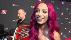 Who did Sasha Banks predict will win the NXT Women's Championship?