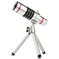 Mobile Phone Lens Universal 18x universal optical Telescope Camera telephoto Lens with tripod For iphone Samsung HTC 18X Lens