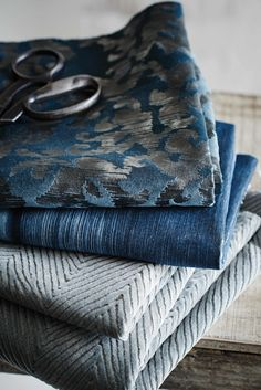 Moody blues with Stroheim's Ambiance II collection.