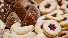 Vánoční cukroví peče většina českých domácností-recepty