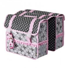 Basil Jasmin Baboushka Double Pannier Bike Bag