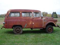 1957 Dodge A100 4X4 Power Wagon