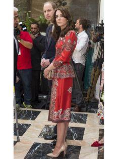 キャサリン妃がインド・ブータン訪問でかけた衣装代、How much?