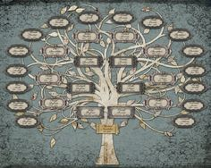 Family Tree For a Wedding or Anniversary  by CreativeFamilyTree, $195.00