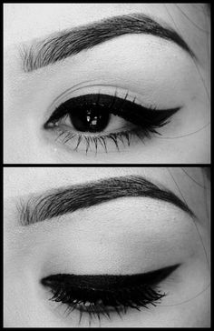 Retro makeup - YES!  These eyes! @Jess Liu Eads