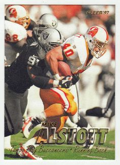Mike Alstott # 296 - 1997 Fleer Football