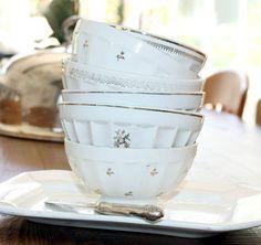 french antique cafe au lait bowls