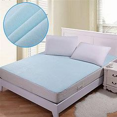 Mattress Cover With Zipper Allergen Proof Sleep Like Bear Bed Guard Hypoallergenic Waterproof Zipper Mattress Cover Full Double Size Mattress Covers, Crib Mattress, Mattress Protector, Double Bed Sheets, Double Beds, Bed Guard, Floor Chair, Cribs, Furniture