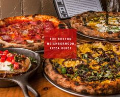 The best pizza place in 15 Boston neighborhoods - Kiddos love pizza and Boston has some of the best!