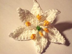 Ravelry: Kerry Lily Flower pattern by Camelia Shanahan